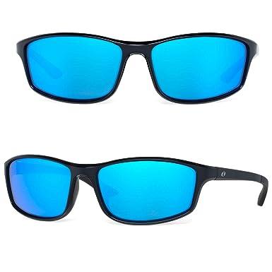 3ede74457d Bnus Paladin italy made corning glass lens blue mirrored polarized  sunglasses for men Running Driving Fishing