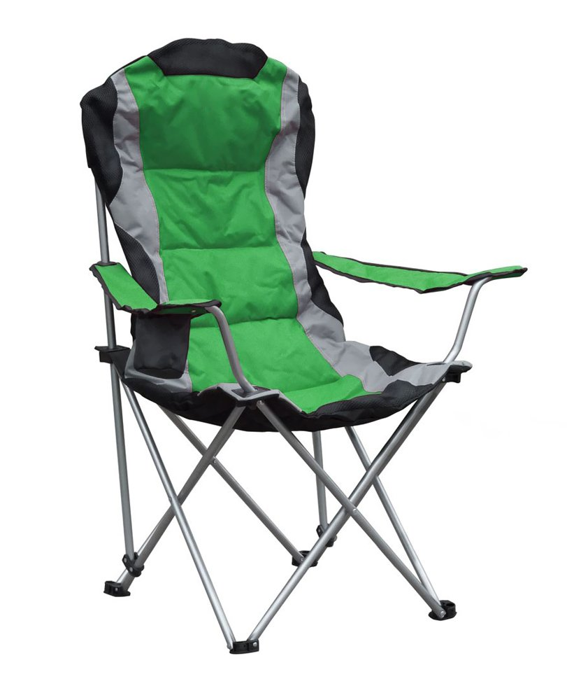 amazon com gigatent camping chair blue sports outdoors