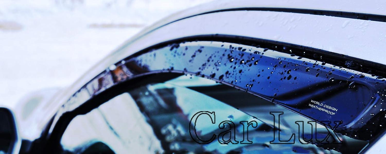 Car Lux AR04852 Derivabrisas Deflectores de Viento Leon 5F de 3 Puertas