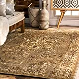 nuLOOM MCGZ01D Bohemian Reiko Area Rug, 5′ x 8′, Natural Review