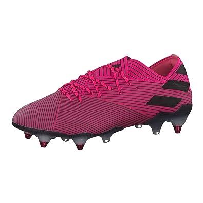 adidas Nemeziz 19.1 SG, Scarpe da Calcio, Shock Pink Core