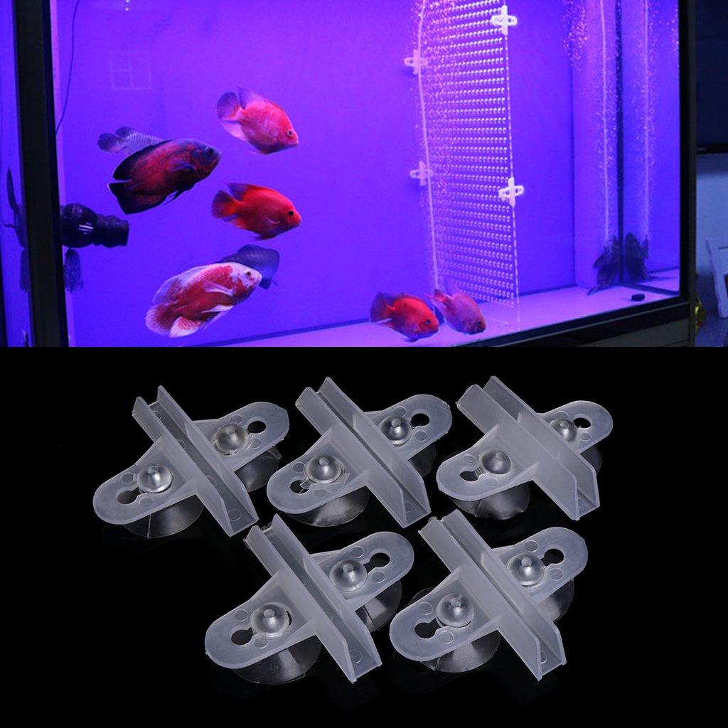 Dabixx Juego de separador de acuario para acuario, con ventosa, plástico, Blanco, 1 Set(30x15 cm): Amazon.es: Hogar