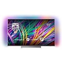 Philips 55PUS8303/12 139 cm (55 Zoll) LED (Ambilight, 4K Ultra HD, Triple Tuner, Smart Fernseher)