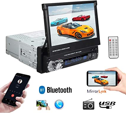7 inch HD touch Screen Car Stereo with mirror link Bluetooth MP3//MP4 Auto Radio