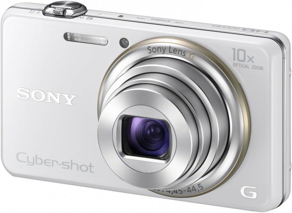 Sony Dsc Wx100w Cyber Shot Digitalkamera 2 7 Zoll Weiß Kamera