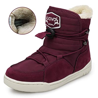 1477012deb9a1 UOVO Boys Shoes Boys Winter Boots Kids Ankle Boots (11 M US Little Kids,