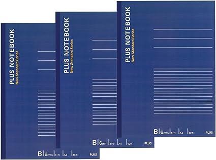 Plus A4 Notebook B rayas tres libros Pack (importado de Japón): Amazon.es: Oficina y papelería
