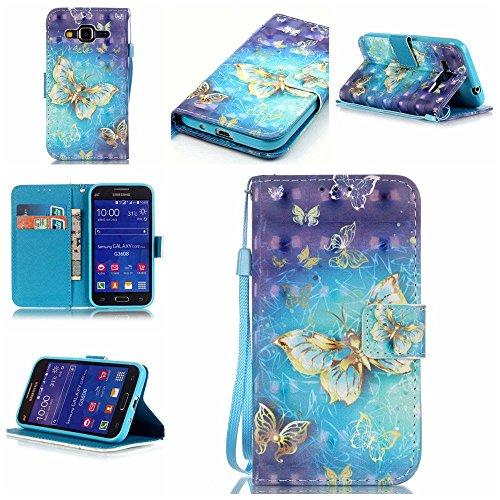 C-Super Mall-UK Samsung Galaxy Core Prime (SM-G360F) Case, Exquisite...