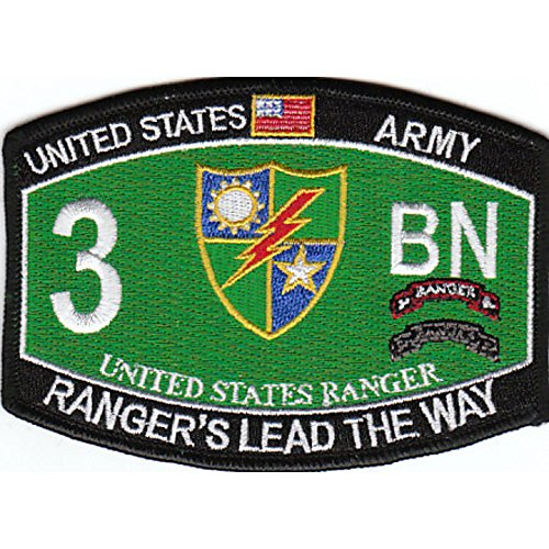 3rd Bn 75th Ranger Regiment Military Occupational Specialty MOS Rating Patch ()
