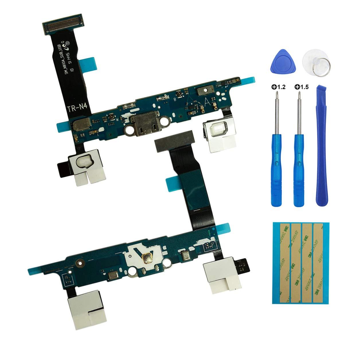 Puerto de Carga para Samsung Note4 N910A
