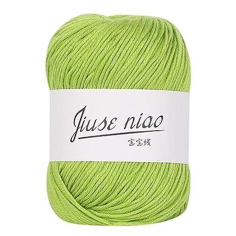 Tensay DIY tejer lana, hilo de encaje DIY tejido a mano 1PC ...