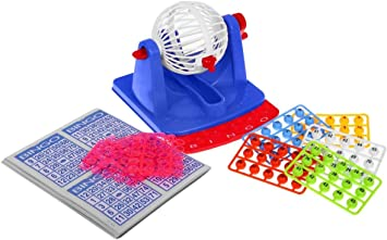 Juego de Tablero Juego de Mesa - Bingo Tambor con Accesorios: Amazon.es: Juguetes y juegos