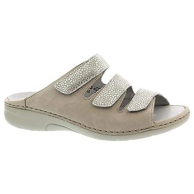 offizieller Shop Temperament Schuhe Neuankömmling Waldläufer Damen Pantoletten Gunna -G- 204501.280.802 beige 586207