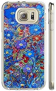 S6 case of TUTU158600 Hard Case Back Custom PC case for galaxy S6 - Light butterfly