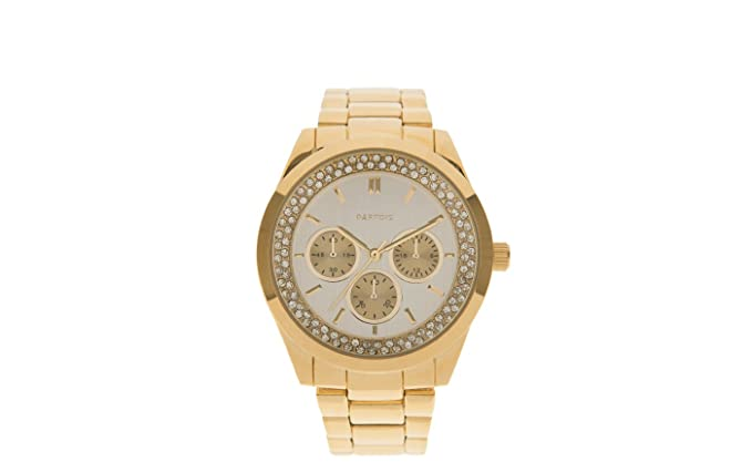 Parfois - Reloj Glamour - Mujeres - Tallas M - Dorado: Amazon.es: Relojes