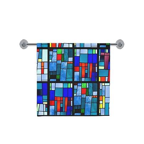 Amor naturaleza personalizado mosaico baño cuerpo ducha toalla de baño Wrap para el hogar al aire