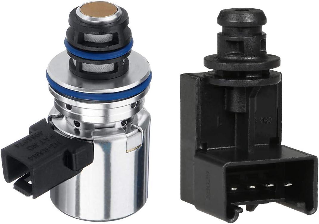 Transmission Pressure Sensor /& Governor Pressure Solenoid Kit Fits for Dodge Ram 1500 2500 3500 Dakota Durango Jeep Grand Cherokee 2000-UP 4617210 A518 42RE 44RE 46RE 47RE