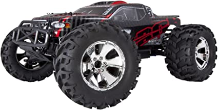Amazon Com Redcat Racing Earthquake 3 5 Monster Truck Nitro 2 Speed With 2 4ghz Radio 1 8 Scale Red Black Toys Games