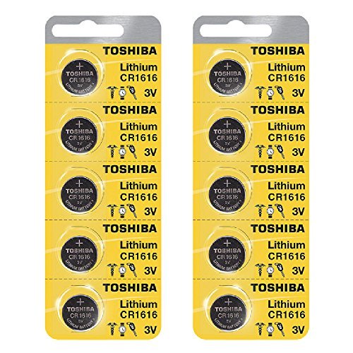 Toshiba CR1616 3 Volt Lithium Coin Battery (10 pcs)