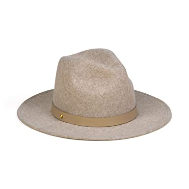 Lack of Color Women s Carlo Mack Luxe Wool Fedora (Speckled Light Brown 6d30a05fa
