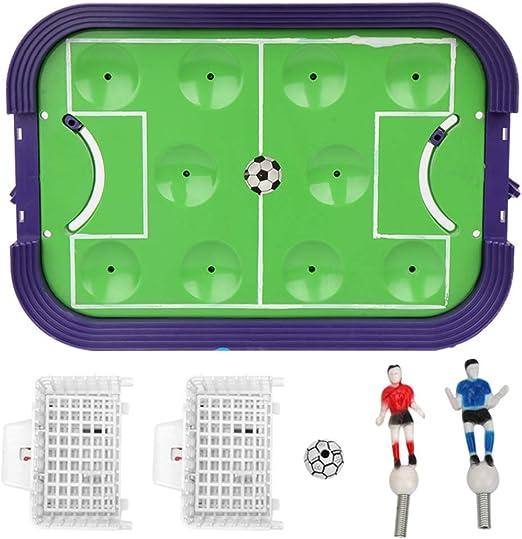 ZXYSHOP Juego de Mesa de fútbol de Escritorio, Juego de Mesa de Dos Jugadores de ABS Ambiental Medio de fútbol Interesante Mini Juego de Mesa para niños Niños Chicas Adultos: Amazon.es: Hogar