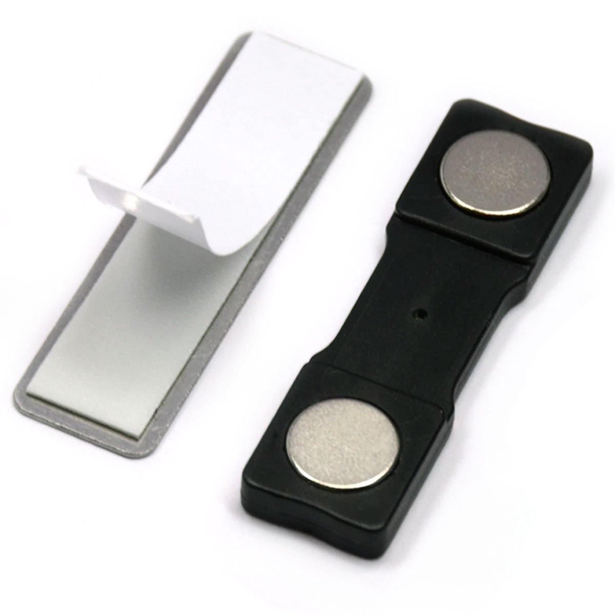 CMS Magnetics Name Badge Magnets Model BM-2Mag-2, 100 Sets