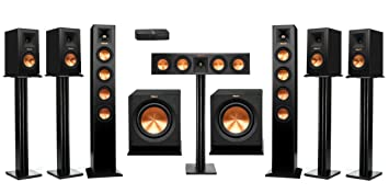 home theater wireless. klipsch rp-hd wireless 7.2 home theater system