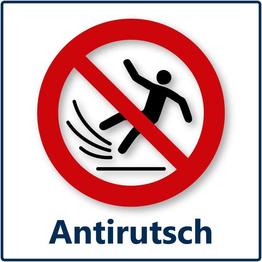Plakat Die Alternative zum Schild o Bitte Abstand halten Fu/ßbodenaufkleber 40x40 cm ✓ Anti-Rutsch ✓ wasserfest