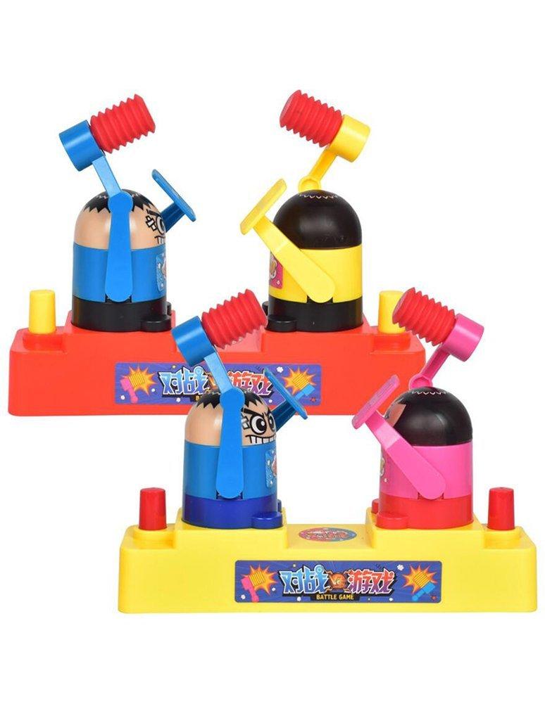 Kids Battleボードゲーム、Battleロボットハンマーゲーム玩具ノベルティHitting and defenseインタラクティブゲームfor Family andパーティー B07G2FGJP8