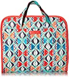 Vera Bradley Iconic Hanging Travel Organizer, Signature Cotton, Go Fish, One Size