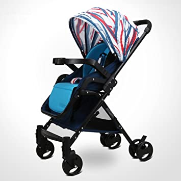 Carro de bebé Niño Cochecito de bebé La alta luz del paisaje puede tomar un carro