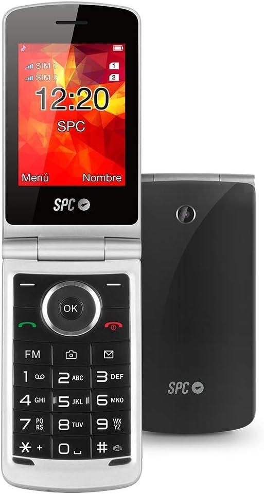 SPC Opal teléfono móvil con Tapa y Dual SIM: Amazon.es: Electrónica