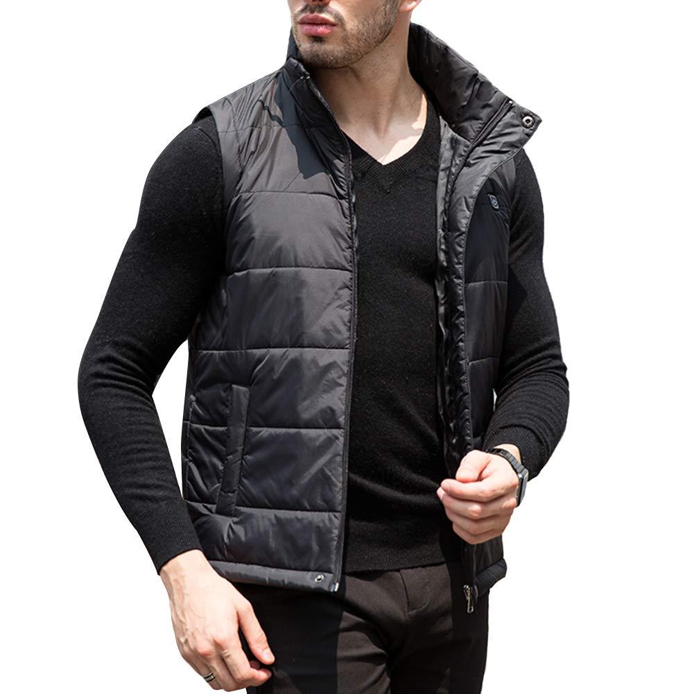 USB Electric Heated Vest Fleece Soft Texture Größe Adjustable Wäschekleider Heizweste für Winter Skifahren