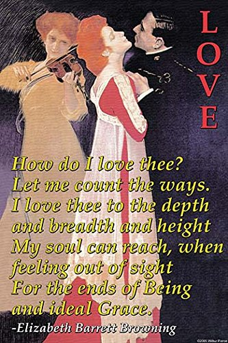 """Buyenlarge How Do I Love Thee? - 16"""" X 24"""""""" Fine Art Gicl..."""