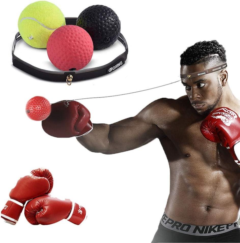 Boxeo Reflejo Pelota Conveniente Para Adultos Bola Velocidad, 3 ...