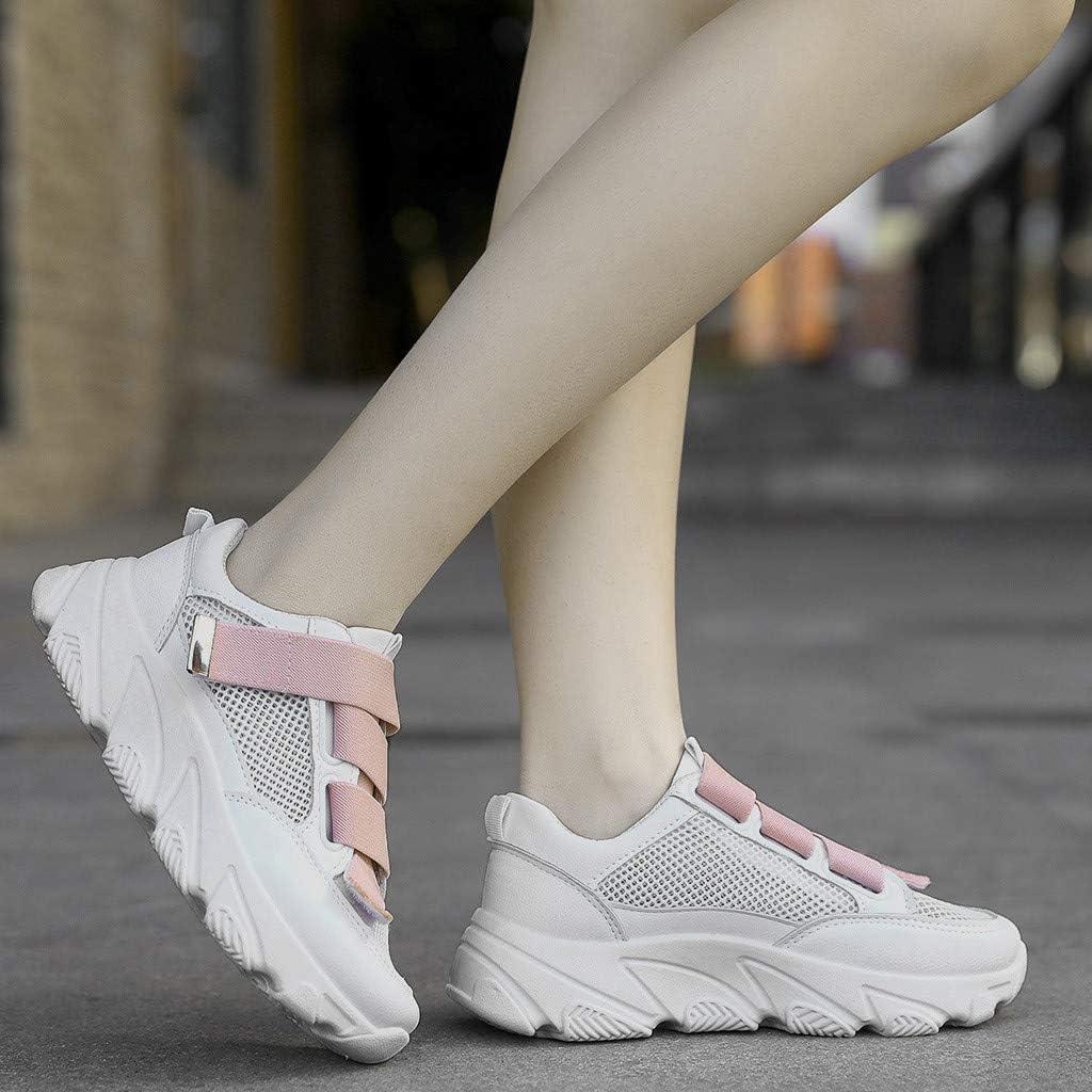 Women Walking Shoes Mesh Lightweight Casual Sports Slip on Gym Jogging Tennis Running Sneakers