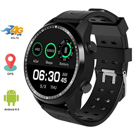 HZYWL KC06 Smartwatch, Sport Band Fitness Tracker 1GB 16GB ...