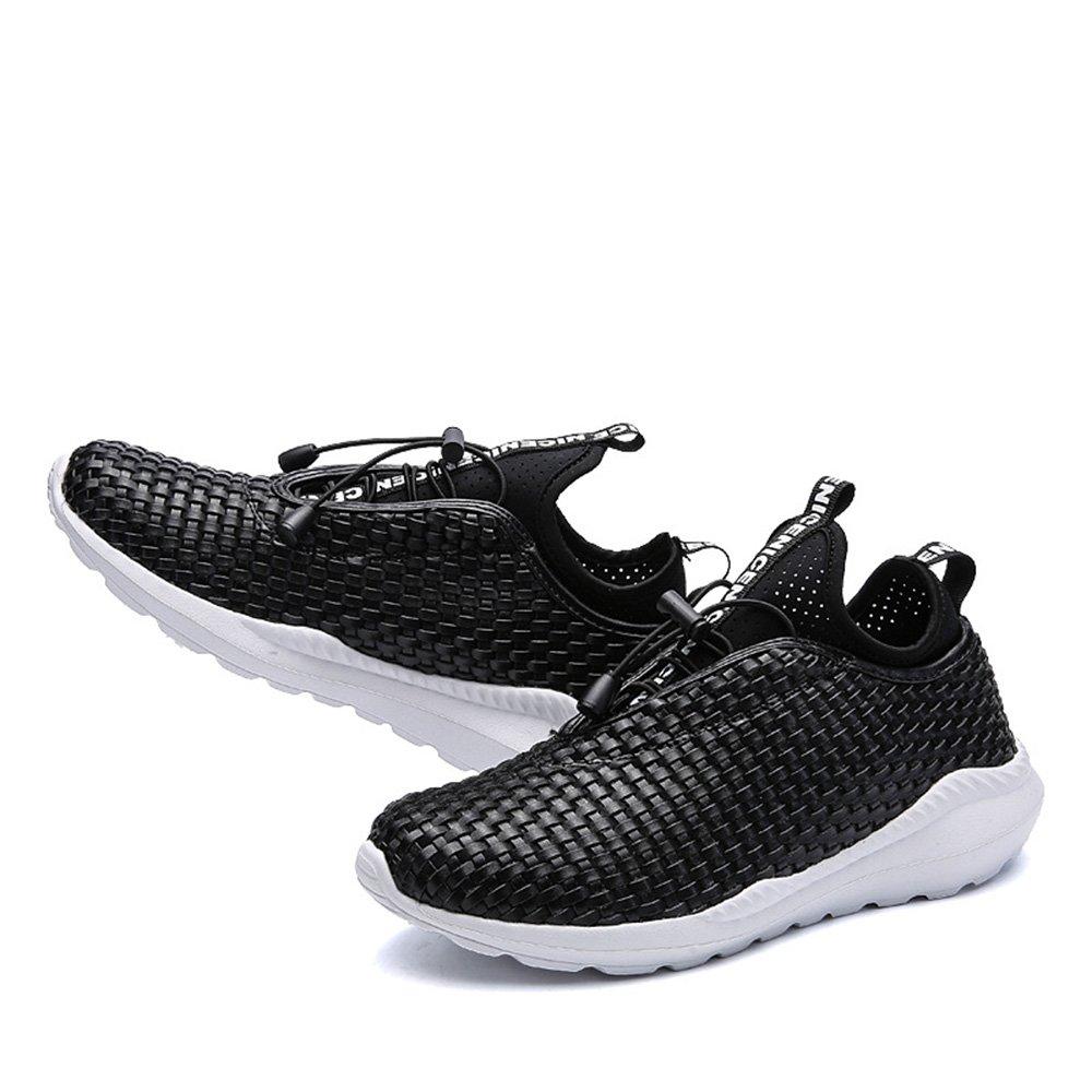 2018 2018 2018 handgewebte atmungsaktive Männer koreanische Version des Trends der großen Größe der Männer Sportschuhe Laufschuhe 012f41