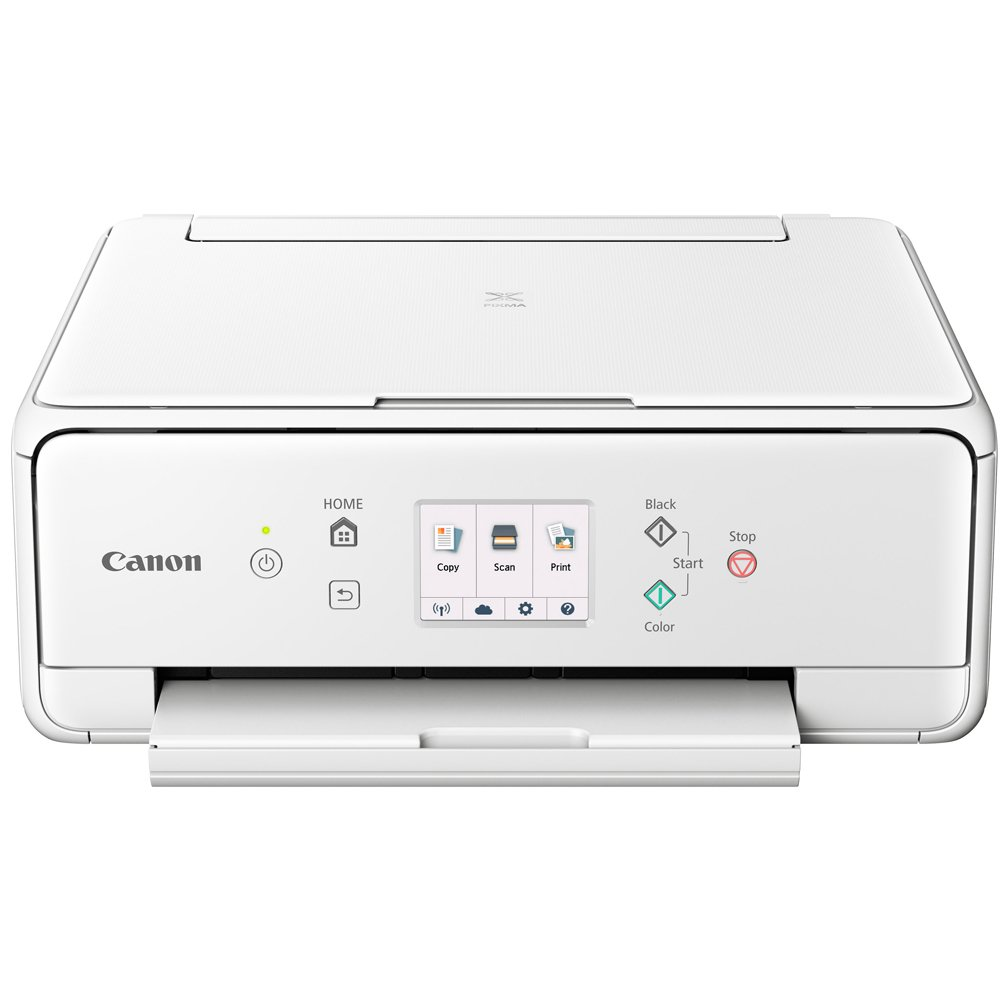 Canon PIXMA TS6120 Wireless All-in-One Compact Printer with Scanner & Copier White (2229C022) Corel Paint Shop Pro X9 Digital Download & High Speed 6-foot USB Printer Cable by Canon (Image #2)