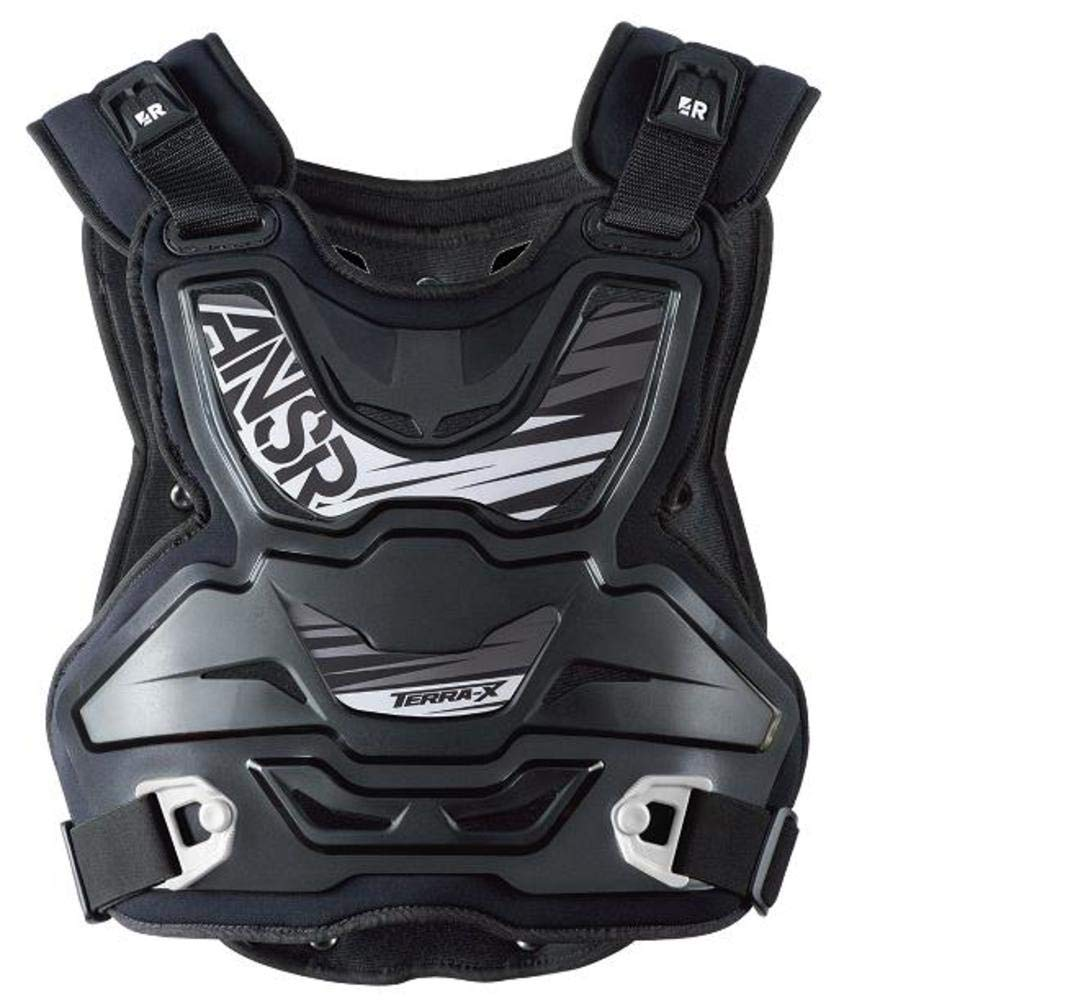 Answer Racing Terra X Adult Off-Road Motocycle Deflector - Black/One Size 460000