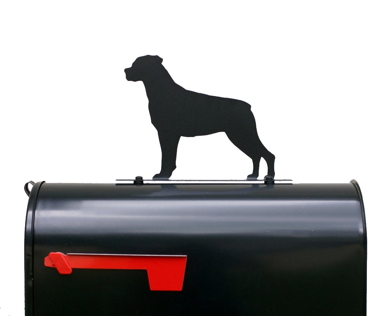Rottweiler Dog Mailbox Topper / Sign - Rottie