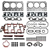 Head Gasket Set with Head Bolt HS9917PT-3, ES74033 Fits for 1997-2005 Buick Chevy Oldsmobile Pontiac 3.8L VIN 1 2 K