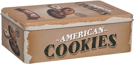 Caja de azúcar de metal vintage: Amazon.es: Hogar