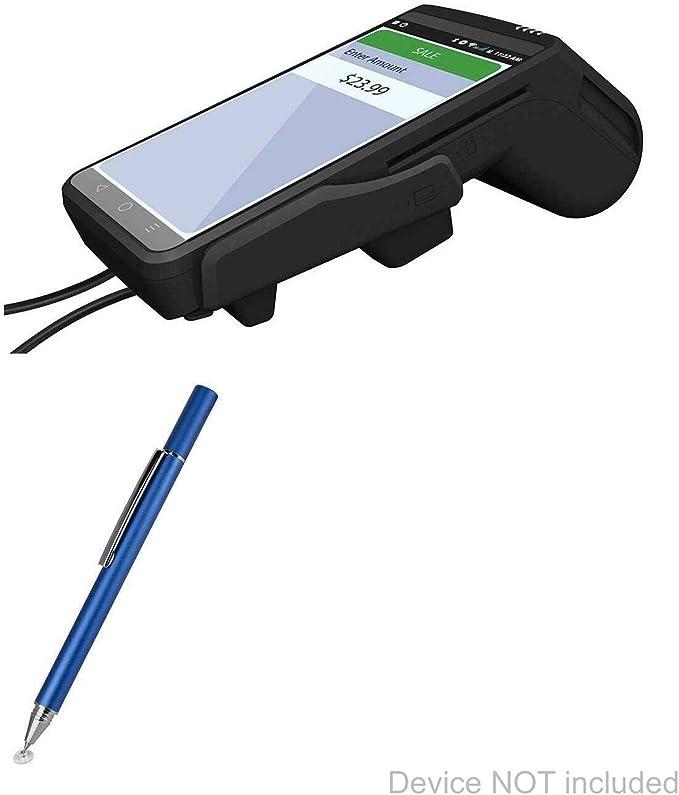 BoxWave Dejavoo QD1 Rigid Wireless Stylus Pen Jet Black EverTouch Capacitive Stylus Fiber Tip Capacitive Stylus Pen for Dejavoo QD1 Rigid Wireless