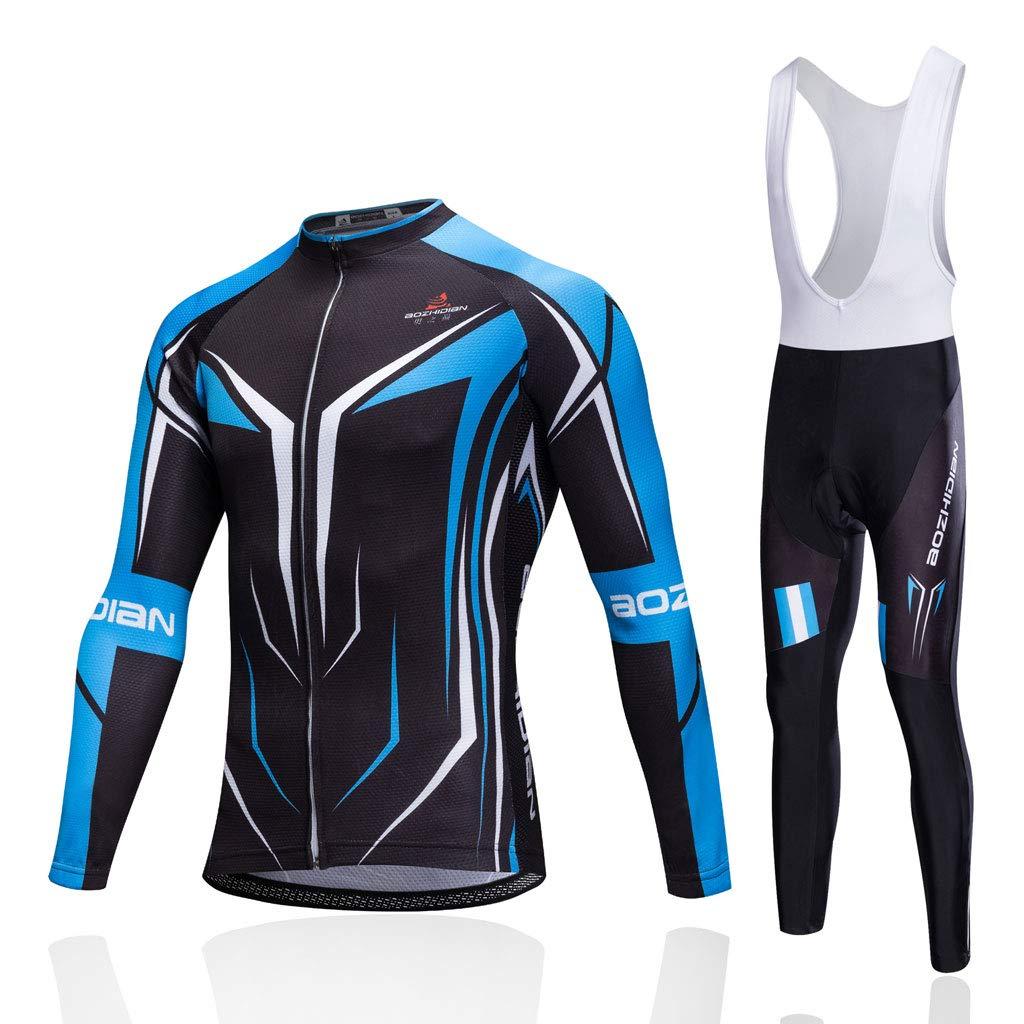 Lilongjiao Frühling, Herbst und Winter Long Sleeves Radfahren Anzüge Mountainbike Professionelle Team Reitanzug Outdoor Sportswear