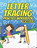 Letter Tracing Practice Workbook for Ages 3-5