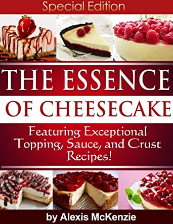 The essence of cheesecake featuring special topping for Essence magazine recipes