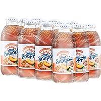 SNAPPLE, Diet Durazno 473 ml, Botella de Vidrio, 12 piezas
