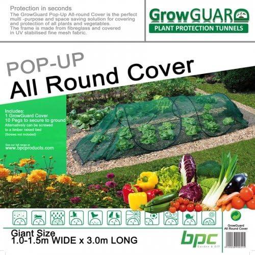 growguard Pop-Up todo Planta cubierta de protección: Amazon.es: Jardín