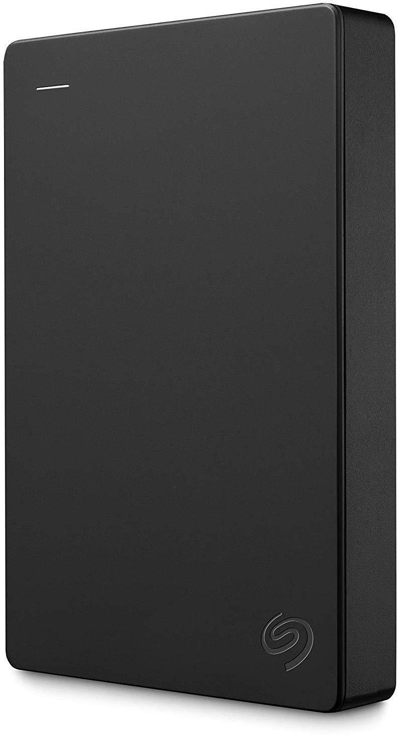Seagate Portable 5TB External Hard Drive HDD – USB 3.0 for PC, Mac, PS4, & Xbox - 1-Year Rescue Service (STGX5000400), Black